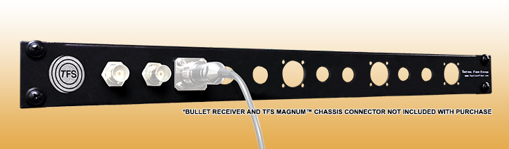 CamLink Plus™ Patch Panel - Fits up to four Camlink Receiver  & Magnum Chassis Connector Modules