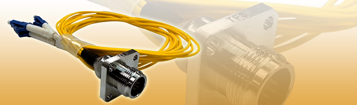 Magnum™ Quad Chassis Connector with Patch Cable - 4 LC Breakout