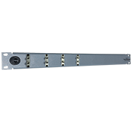 4 Port Duplex ST Patch Panel