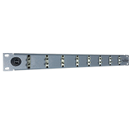 8 Port Duplex ST Patch Panel