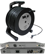 500 foot CamLink Pro™ All-in-1 Reel with 3G-HDSI, InterCom and IP Based Camera Control